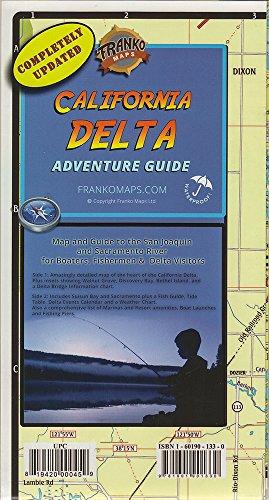 California Delta Map by Franko