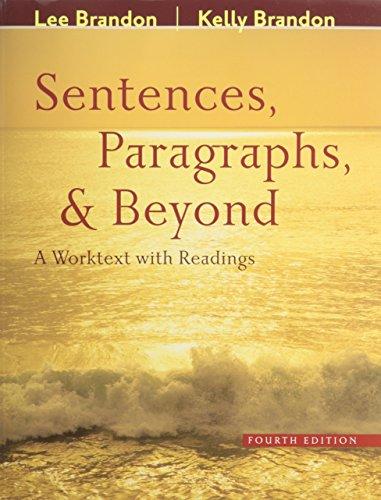 Sentences Paragraphs and Beyond 4th Ed + Expressways 5.0 Cd + Everwrite Cd + Eduspace