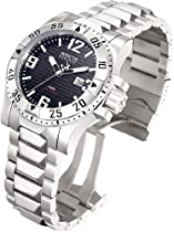 Invicta Mens Stainless Steel Excursion Dial Diver (Black)