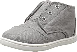 TOMS Kids Unisex Paseo Mid (Infant/Toddler/Little Kid) Ash Canvas Sneaker 3 Infant M