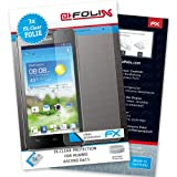 AtFoliX FX-Clear Premium Display Protection Film for Huawei Ascend G615 Crystal-Clear Pack of 3