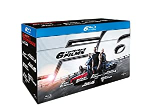 fast and furious coffret 6 films blu ray vin diesel paul walker michelle. Black Bedroom Furniture Sets. Home Design Ideas