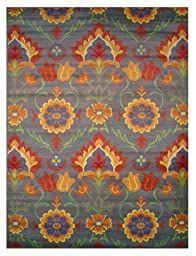 LA Rug Botticelli Abstract Geometric Area Rug (5 by 8 Foot) 500-04-0508