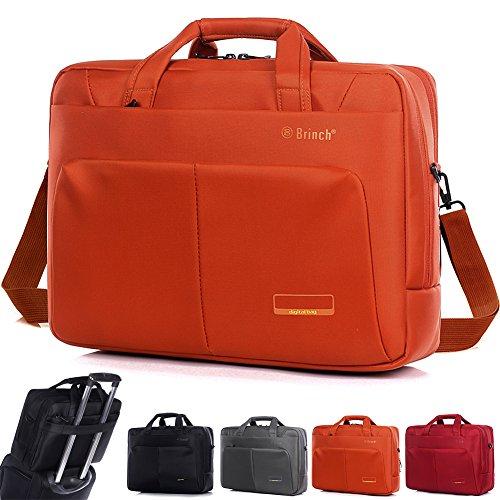 DTBG Nylon Versatile convertile spaziosa Business Casual Travel menssenger valigetta COMPUTER PORTATILE BORSA A TRACOLLA escursionismo zaino per laptop/notebook/Macbook/Tablet da 15.6,16 arancione Orange 15;6