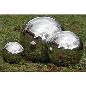 Sunflower design sphere stainless steel water for Sphere garden design