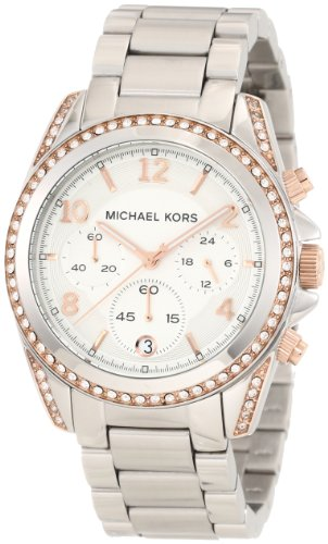 Michael Kors Women's MK5459 Blair Silver & Rose