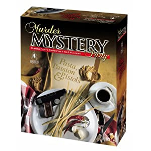 Murder Mystery Party - Pasta, Passion and Pistols