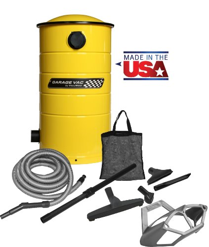 Images for VacuMaid GV50Y Wall Mounted Garage Utility Vacuum with 50 foot Hose, Tools and Blow Function
