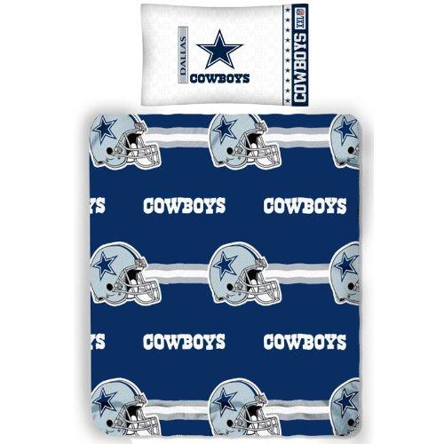 Nfl Dallas Cowboys Bear Pillowcase Set Football Blanket front-1012469