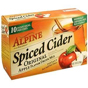 Alpine Spiced Cider Instant Drink Mix Original Apple Flavor