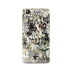 Mobicture Paint Abstract Premium Printed Case For Micromax Canvas Selfie 2 Q340