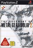 echange, troc The Document of Metal Gear Solid 2 [Import Japonais]