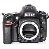 Nikon D610 Body Fotocamera Reflex Digitale, 24.3 Megapixel, LCD 3.2 Pollici, SD 8 GB Premium Lexar, Nero [Nital card: 4 anni di garanzia]