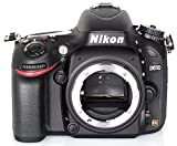 Nikon D610 SLR-Digitalkamera (24,3 Megapixel, 8,1 cm (3,2 Zoll) Display, Full HD, AF-System mit 39 Messfeldern) nur Gehäuse schwarz