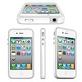 BUMPER Schutzh�lle f�r Apple iPhone 4 4S - Weiss