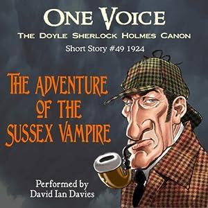 The Adventure of the Sussex Vampire Audiobook