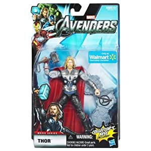 Marvel Legends Avengers Movie Exclusive 6 Inch Action Figure Thor Includes Collectors Base