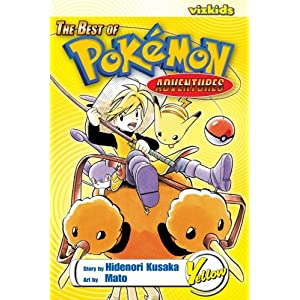 Amazon.com: The Best of Pokemon Adventures: Yellow (9781421509297 ...