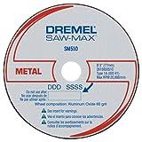 Dremel SM510c 3-Inch Metal Cut-Off Wheel, 3-Pack (Color: Black)