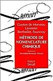 echange, troc L. B. (Louis Bernard) Guyton de Morveau - Méthode de nomenclature chimique