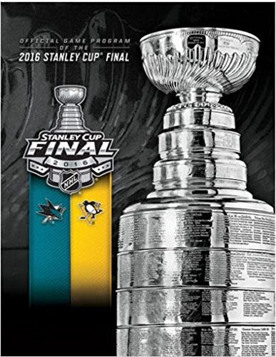 2016 STANLEY CUP CHAMPIONS FINAL NHL PROGRAM PITTSBURGH PENGUINS SAN JOSE SHARKS
