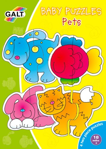 Picture of Fun Galt Baby Puzzle Pets (B0002X7YRC) (Pegged Puzzles)