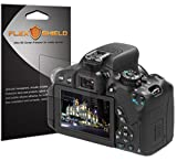 FlexShield [5-Pack] - Canon EOS 650D Screen Protector with Lifetime Replacement Warranty - Ultra Clear Japanese PET Film - Bubble-Free HD Clarity with Anti-Fingerprint & Scratch Resistance