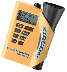 Zircon DM S50L Ultrasonic Measure with Laser Targeting