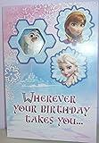 Disney Frozen Wherever Your Birthday takes you... Card