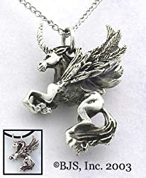 Large Unisus Necklace - Fantasy Jewelry in Sterling Silver