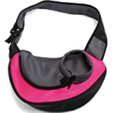 Petown Portable Soft Pet Carrier Shoulder Bag for Dogs and Cats
