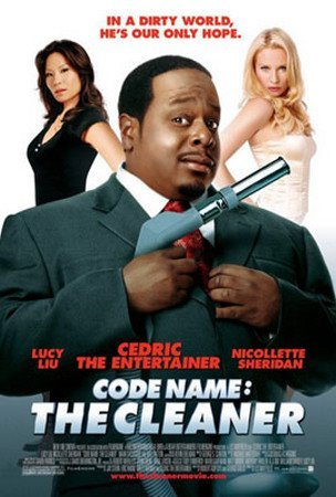 CODE NAME: THE CLEANER ORIGINAL MOVIE POSTER Double-sided Poster Print, 27x41