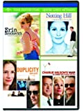 Erin Brockovich / Notting Hill / Duplicity / Charlie Wilson's War Four Feature Films [DVD] (Bilingual)