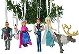 Disney Frozen Christmas Ornaments 6 Piece Deluxe Set