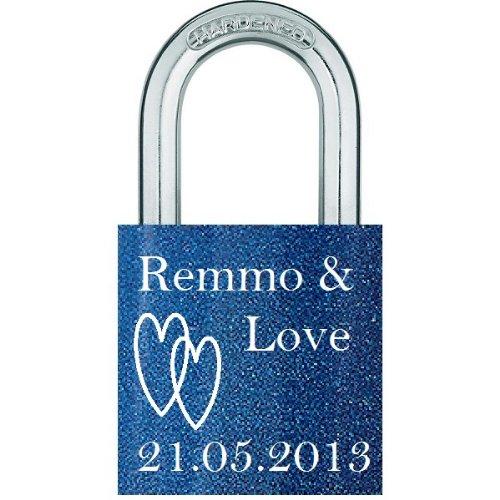 RemmoLove Liebesschloss Liebeschloss