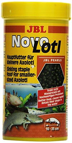 JBL Alleinfutter für klein Axolotl, Perlen 250 ml, NovoLotl 30353