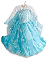 Disney Store Frozen Deluxe Elsa Costume Dress