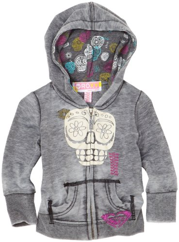 Roxy Teenie Wahine Sommer-Salt Hoodie, Black, 18 Months