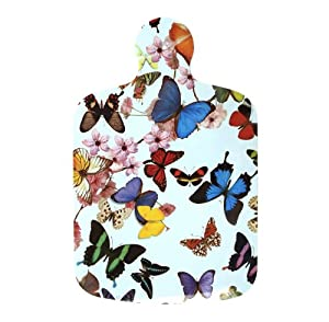 butterflies melamine chopping board kitchen