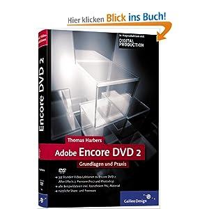 eBook Cover für  Adobe Encore DVD 2 Grundlagen und Praxis Galileo Design