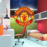 Manchester United 2-Piece Wall Mural, Multi-Colour