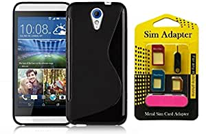 Wellmart Grip Back Cover For Lenovo Vibe P1 Combo Offer Free 5 In 1 Metal Sim Card Adapter