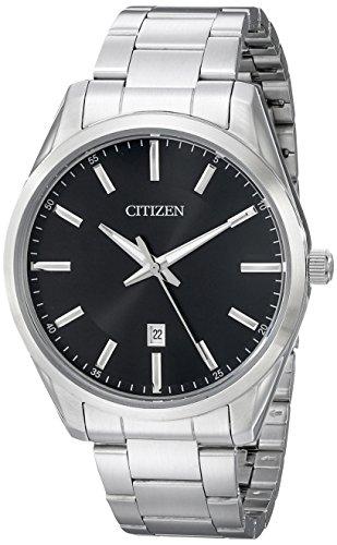 Citizen Mens BI1030-53E  Quartz Watch in Stainless Steel