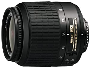 Nikon 18-55mm f/3.5-5.6G ED AF-S DX Non-VR Nikkor Zoom Lens (Discontinued by Manufacturer)