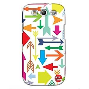 Rainbow Arrows- Nutcase Designer Case Samsung Galaxy S3 Cover