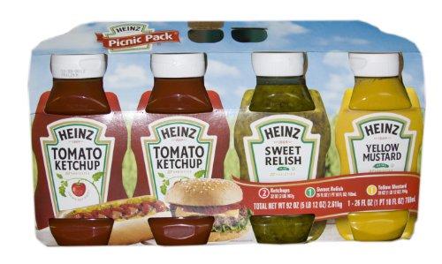 Heinz Picnic Pack 4pc