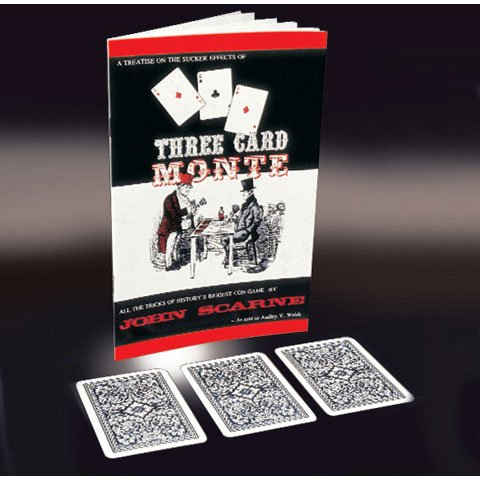 Three Card Monte Book by Scarne