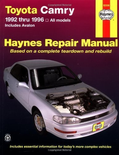 toyota-camry-automotive-repair-manual-all-toyota-camry-and-avalon-models-1992-thru-1996-haynes-repai