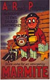 Vintage Poster Shop World War 2 Marmite Advertisement Poster A3 Print
