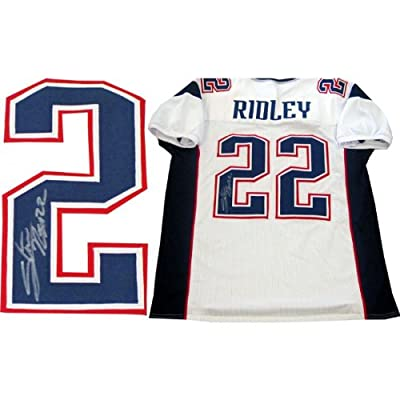 Stevan Ridley Autographed Signed New England Patriots White Jersey